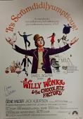 GENE WILDER Signed 27x40 Willy Wonka Movie Poster Auto w/ PSA/DNA COA