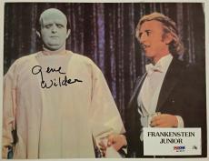 GENE WILDER Signed 8.5x11 Original Lobby Card #2 YOUNG FRANKENSTEIN PSA/DNA COA
