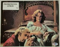 GENE WILDER Signed 8.5x11 Original Lobby Card #5 YOUNG FRANKENSTEIN PSA/DNA COA