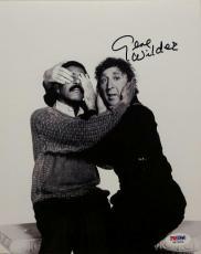 GENE WILDER Signed 8x10 Photo Autograph Richard Pryor w/ PSA/DNA COA