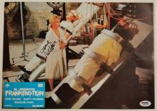 GENE WILDER Signed 9.5x13 Original Lobby Card #3 YOUNG FRANKENSTEIN PSA/DNA COA