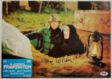 GENE WILDER Signed 9.5x13 Original Lobby Card #5 YOUNG FRANKENSTEIN PSA/DNA COA