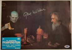 GENE WILDER Signed 9.5x13 Original Lobby Card #7 YOUNG FRANKENSTEIN PSA/DNA COA