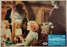 GENE WILDER Signed 9.5x13 Original Lobby Card #9 YOUNG FRANKENSTEIN PSA/DNA COA