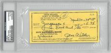 Gene Wilder Signed Authentic Autographed Check Slabbed PSA/DNA #83582904