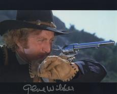 Gene Wilder Signed Autographed Blazing Saddles Color Photo Wow!!!