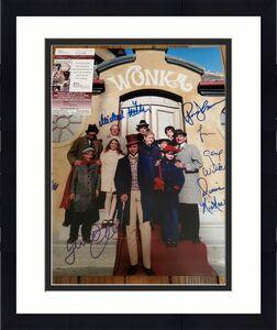 GENE WILDER SIGNED AUTOGRAPHED JSA COA WILLY WONKA CAST 11x14 PHOTO ALL 5 KIDS!