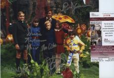 Gene Wilder Signed Autographed Jsa Coa Willy Wonka Cast Photo With All 5 Kids!!