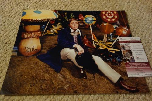 GENE WILDER SIGNED AUTOGRAPHED WILLY WONKA 11x14 COLOR PHOTO JSA SPENCE COA