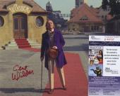 GENE WILDER SIGNED AUTOGRAPHED WILLY WONKA COLOR 8x10 PHOTO JSA SPENCE COA
