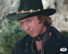 Gene Wilder Signed Blazing Saddles 8x10 Photo PSA 4A96688
