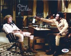 Gene Wilder Signed Blazing Saddles 8x10 Photo PSA 4A96716