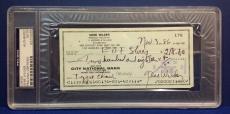 Gene Wilder signed Cancelled Check Slabbed PSA/DNA # 83770489