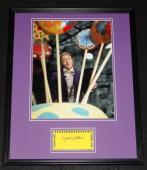 Gene Wilder Signed Framed 16x20 Photo Poster Display JSA Willy Wonka B