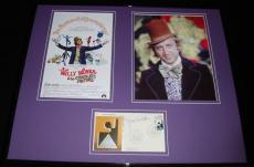 Gene Wilder Signed Framed 16x20 Photo Poster Set JSA Willy Wonka