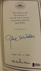 GENE WILDER Signed Kiss Me Like A Stranger 1st Ed. #1,242 / 1600 Beckett BAS COA