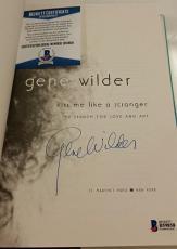 GENE WILDER Signed Kiss Me Like A Stranger Book w/ Beckett BAS COA