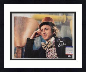 Gene Wilder signed Willy Wonka 16x20 Canvas Photo #2 Autograph ~ PSA/DNA COA