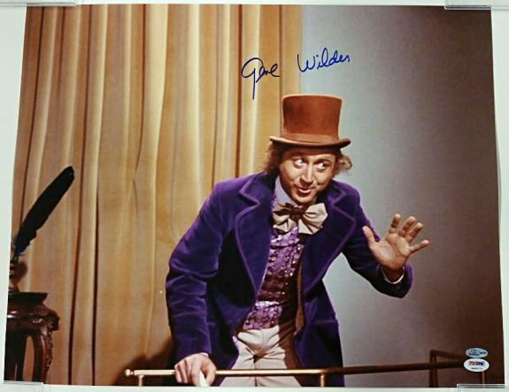 GENE WILDER Signed WILLY WONKA 16x20 Photo #3 Autograph w/ PSA/DNA COA