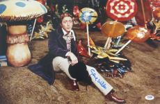 Gene Wilder Signed Willy Wonka Autographed 12x18 Photo PSA/DNA #4A96791