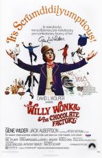 Gene Wilder Signed Willy Wonka & The Chocolate Factory 11x17 Poster Psa Y58389