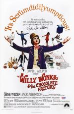 Gene Wilder Signed Willy Wonka & The Chocolate Factory 11x17 Poster Psa Y58390