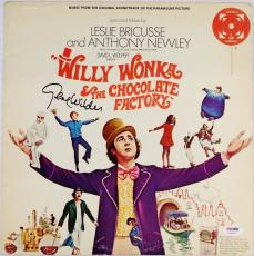 Gene Wilder Signed Willy Wonka & The Chocolate Factory Record Album PSA Auto