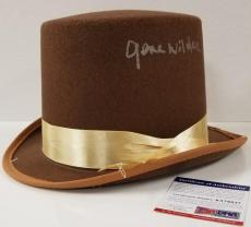 GENE WILDER Signed Willy Wonka Top Hat Auto Chocolate Factory w/ PSA/DNA COA