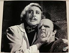 GENE WILDER Signed YOUNG FRANKENSTEIN 16x20 Photo #2 Autograph w/ PSA/DNA COA