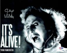 Gene Wilder Signed Young Frankenstein Authentic 8x10 Photo PSA/DNA #4A96727