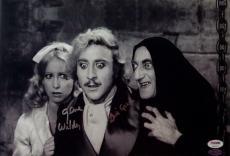 Gene Wilder Teri Garr Signed Young Frankenstein 10x15 Photo PSA Auto 4A96414