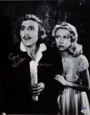 Gene Wilder Teri Garr Signed Young Frankenstein 16x20 Photo PSA Auto 4A96421