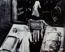 Gene Wilder Teri Garr Signed Young Frankenstein 16x20 Photo PSA Auto 4A96425