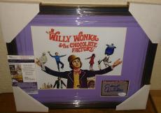 Gene Wilder Willy Wonka Signed Autograph 13x16 Matted Framed Jsa Coa Rare A