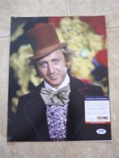 Gene Wilder Willy Wonka Signed Autographed 11x14 Photo PSA Certified #1