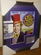 Gene Wilder Willy Wonka Signed Autographed 13x16 Matted & Framed Jsa Coa Rare
