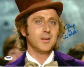 Gene WIlder WILLY WONKA & THE CHOCOLATE FACTORY Signed 8x10 Photo PSA/DNA COA #2