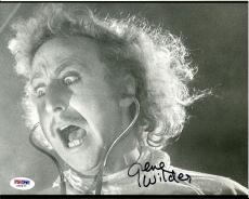 Gene Wilder YOUNG FRANKENSTEIN Signed 8x10 Photo PSA/DNA COA #1