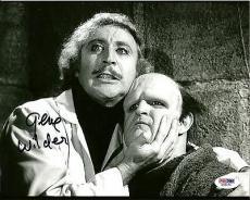 Gene Wilder YOUNG FRANKENSTEIN Signed 8x10 Photo PSA/DNA COA #2