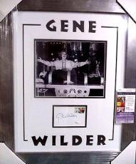 """Gene Wilder """"young Frankenstein"""" Signed Autographed Matted & Framed Jsa Coa Rare"""