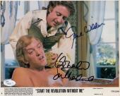 GENE WILDER+DONALD SUTHERLAND HAND SIGNED 8x10 PHOTO       AWESOME+RARE      JSA