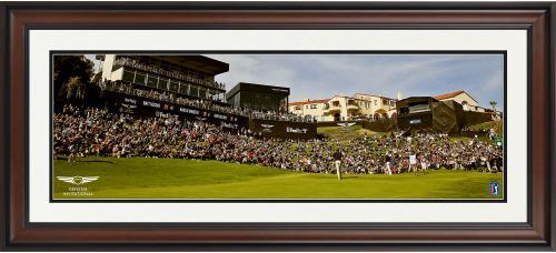"Genesis Invitational Framed 10"" x 30"" PGA Tour Panoramic Photograph"