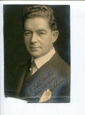 George Alison Early British Theater Stage Actor Signed Autograph Photo