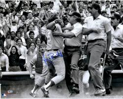 "George Brett Kansas City Royals Pine Tar Autographed 16"" x 20"" Photograph  - Mounted Memories"