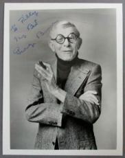 GEORGE BURNS {1896-1996} Signed 8x10 Photo