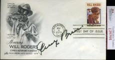 George Burns 1979 Jsa Certed Fdc Authentic Autograph