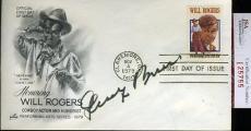 George Burns 1979 Jsa Certed Fdc Authentic Autograph