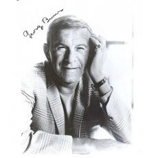 George Burns Autographed 8x10 Photo Head in Hand