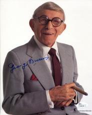 George Burns Autographed 8x10 Photo (JSA)