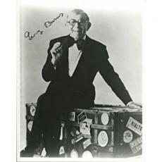 George Burns Autographed/Signed 8x10 Photo